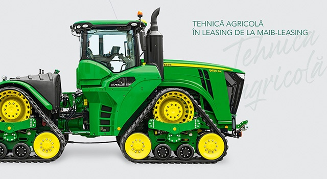 Tehnica agricola in leasing